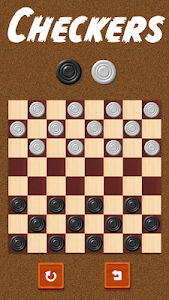 screenshot of Checkers - Damas version 2.1.1