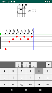 screenshot of Chorditor - Chord editor version 2.1.2