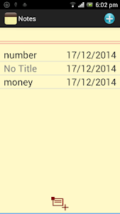 screenshot of Classic Notes - Notepad version 1.0