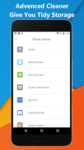 screenshot of Phone Cleaner - all in 1 version 2.1