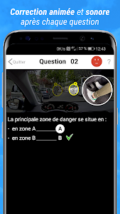 screenshot of Code de la route 2020 version 1.7.3