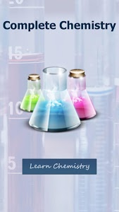 screenshot of Complete Chemistry version 1.8