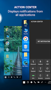 screenshot of Computer launcher for win 10 desktop launcher 2019 version 3.1