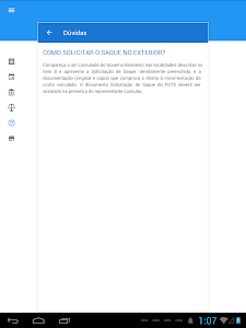 screenshot of Consulta FGTS e PIS version 1.0.35