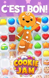 screenshot of Cookie Jam™ Match 3 Games | Connect 3 or More version Varies with device