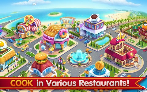 screenshot of Cooking City: crazy chef' s restaurant game version 1.19.3973