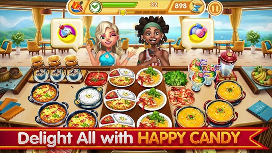 screenshot of Cooking City: crazy chef' s restaurant game version 1.56.5000