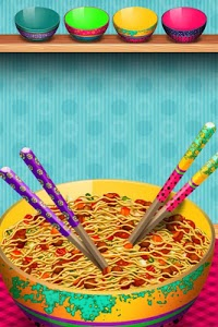 screenshot of Cooking Games – The Noodles Maker Mania version 1.0.3