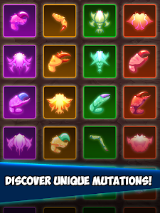 screenshot of Crab War : Idle Swarm Evolution version 3.19.0