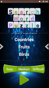 screenshot of CrossWord - Search Word version 1.0