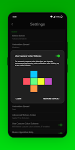 screenshot of CubeX - Cube Solver, Virtual Cube and Timer version 3.1.0.2
