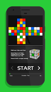 screenshot of CubeX - Cube Solver version 2.3.0.2
