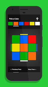 screenshot of CubeX - Rubik's Cube Solver version 2.1.30.5