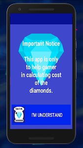 screenshot of Diamond Calculator for Mobile Legend bang bang version 1.04.3501b