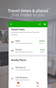 screenshot of Domain Real Estate & Property version Varies with device