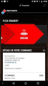 screenshot of Domino's Pizza France - en Livraison ou à Emporter version 2.7.3