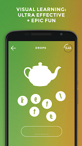 screenshot of Drops: Learn Spanish. Speak Spanish. version 31.72