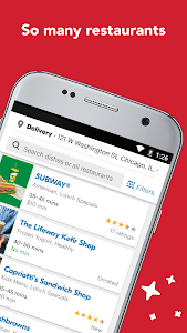 screenshot of Eat24 Food Delivery & Takeout version Varies with device