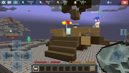 screenshot of Egg Wars version 1.5.3