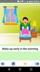 screenshot of English Kids App version 1.24
