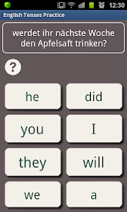 screenshot of English in a Month Free version 1.28