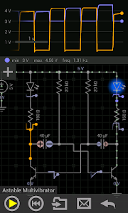 screenshot of EveryCircuit version Varies with device