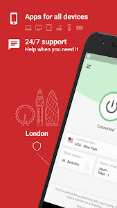 screenshot of ExpressVPN - Unlimited Secure VPN Proxy version 7.7.0
