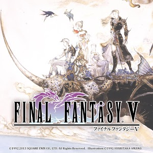 screenshot of FINAL FANTASY V version 1.2.0
