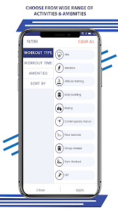 screenshot of FITCITY - One Card To Gym & Fitness version 1.11