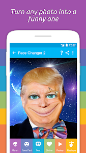 screenshot of Face Changer 2 version Varies with device