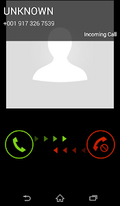 screenshot of Fake Call & SMS version 2.2.8