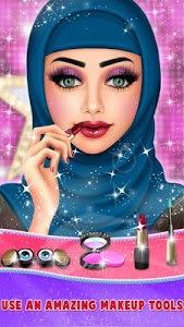 screenshot of Fashion Doll: Hijab Dress up & Makeover version 1.0.1