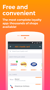 screenshot of FidMe Loyalty Cards & Deals at Grocery Supermarket version Varies with device