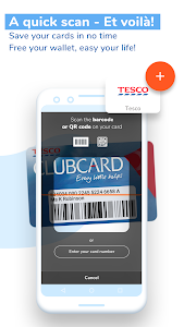 screenshot of FidMe Loyalty Cards & Deals at Grocery Supermarket version 7.2.0