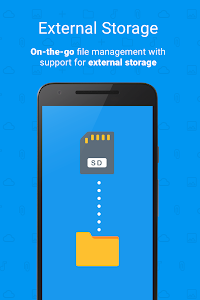 screenshot of File Manager File Explorer version 1.14