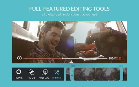 screenshot of FilmoraGo - Free Video Editor version 1.5.0