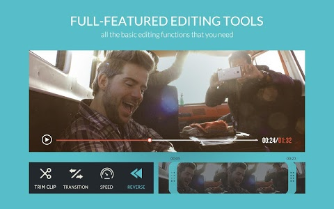 screenshot of FilmoraGo - Free Video Editor version 2.6.0