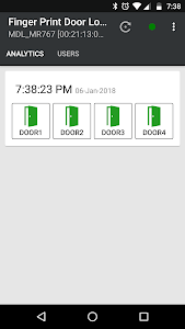 screenshot of Finger Print Door Lock version 1.3