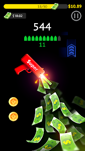 screenshot of Flippy Gun version 1.0.4