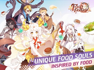 screenshot of Food Fantasy version 1.24.1