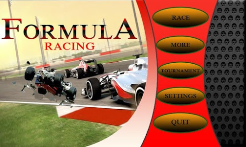 screenshot of Formula Racing version 1.5