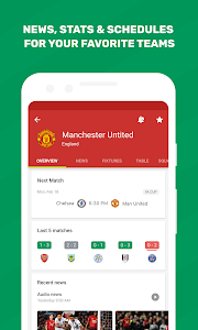 screenshot of FotMob - Live Soccer Scores version Varies with device