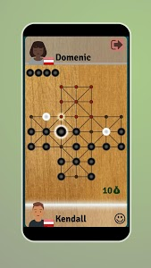screenshot of Fox and Geese - Online Board Game version 1.128
