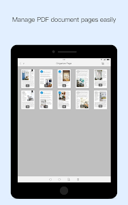 screenshot of Foxit PDF Reader Mobile - Edit and Convert version 7.2.1.1025