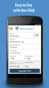 screenshot of Free VPN Proxy - ZPN version 5.0.1