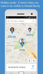 screenshot of Friend Locator : Phone Tracker version 2.56