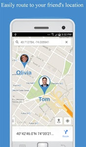 screenshot of Friend Locator : Phone Tracker version 3.28