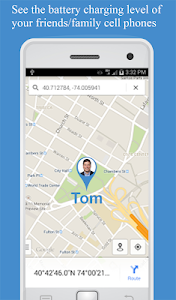 screenshot of Friend Locator : Phone Tracker version 3.58