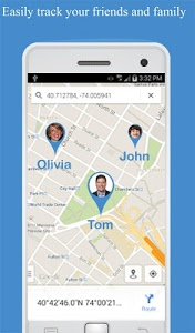 screenshot of Friend Locator : Phone Tracker version 3.29