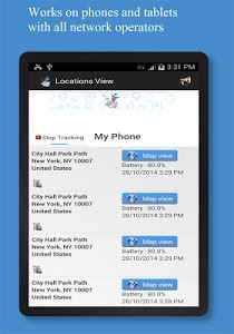 screenshot of Phone Tracker : Family Locator version 4.80